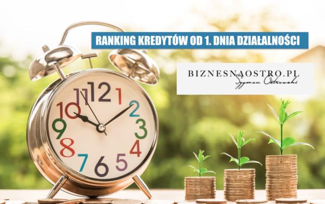 Ranking BNO: kredyty dla młodych firm. Kiedy najwcześniej możesz starać sięo finansowanie?